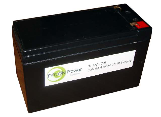 12V 9 Ah battery to suit Tycon Power Products