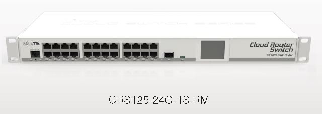 CloudRouterSwitch 125-24G-1S-IN 24 Port Gigabit Desk L3