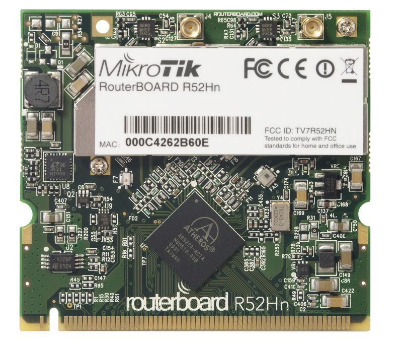 Mikrotik R52Hn Wireless a/ b/g/n Card 25dBM