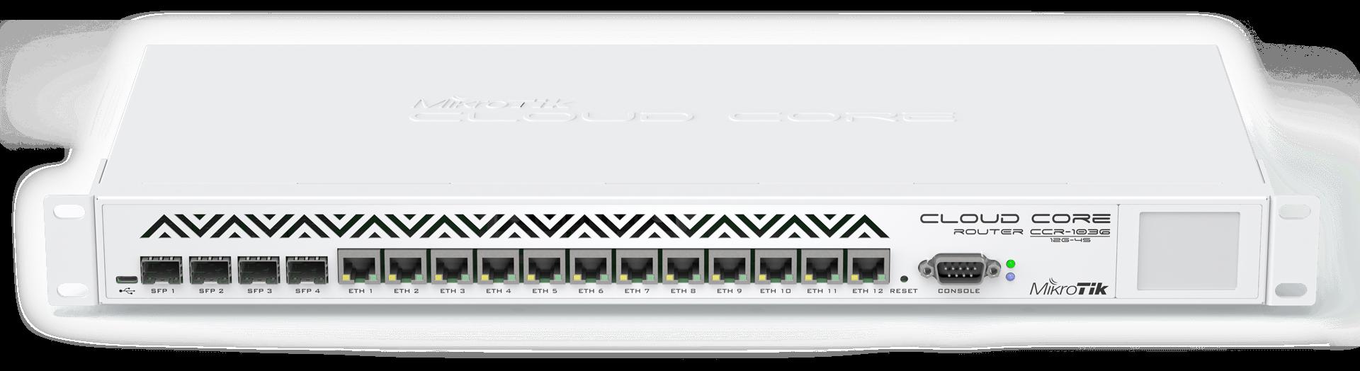 CCR1036-8G-2S+-EM 8xGB Ethernet 2 x 10Gb SFP+ CCR1036-8G-2S+-EM 8xGB