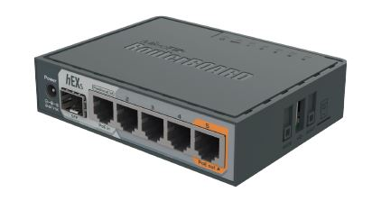 hEX S 5 Port Ethernet Router plus SFP