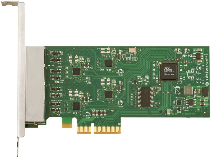 RB44Ge Quad GB Ethernet PCI Express Adapter