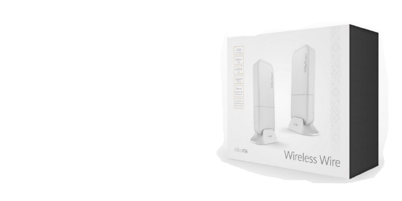 Wireless Wire - In Stock Now60GHz Wireless 1Gbps Full Duplex link for 100M +